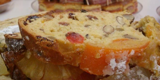 bolo rei un dulce tipico de navidad