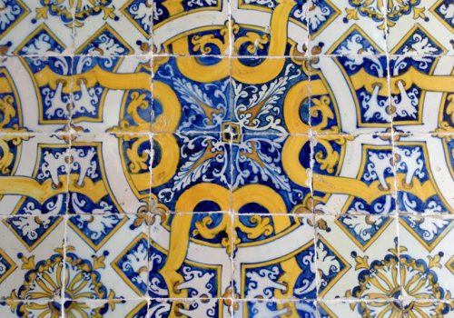 azulejo amarelo