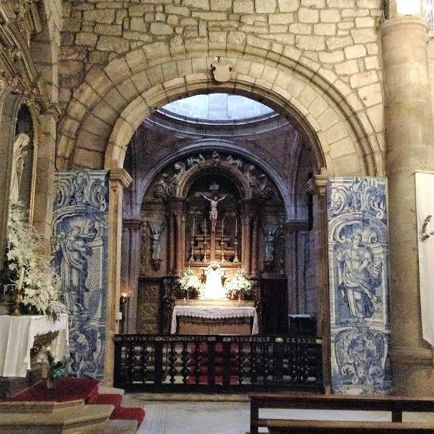 Igreja Misericordia. Azulejo. Chaves