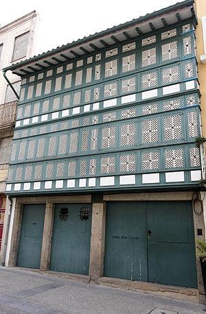 Casa dos Crivos, rua Sao Marcos 94 Braga