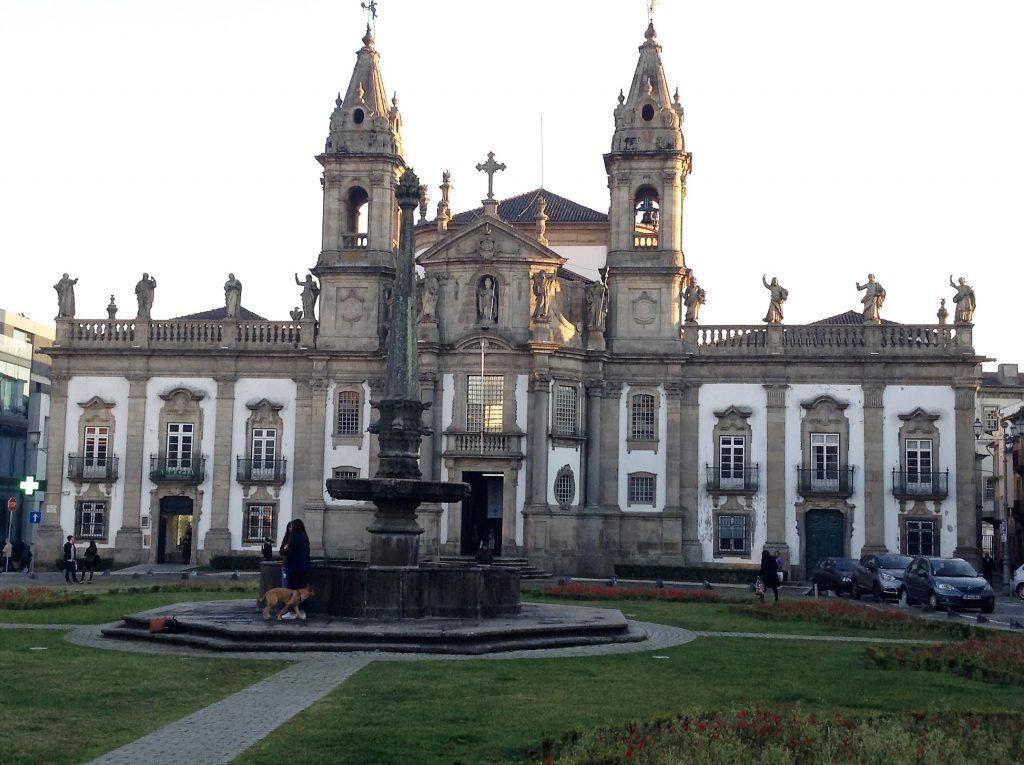 Iglesia de San Marcos o del Hospital. Braga.