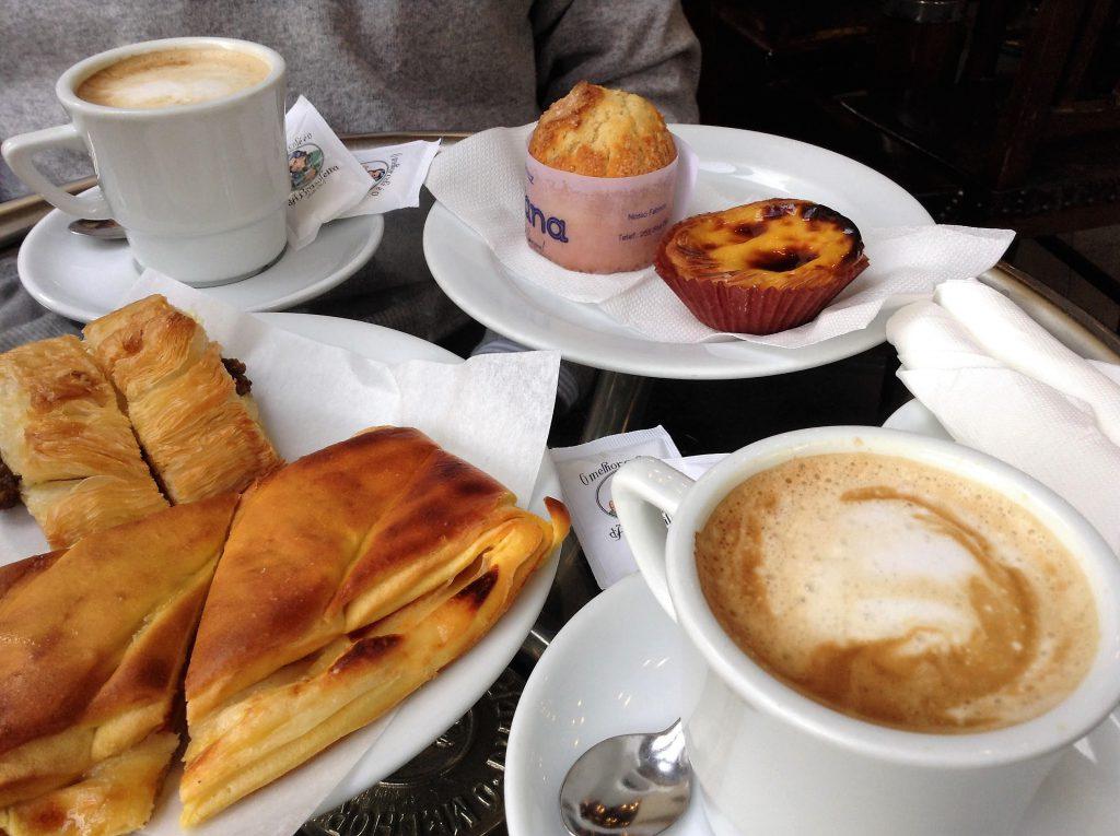 Desayuno en A Brasileira