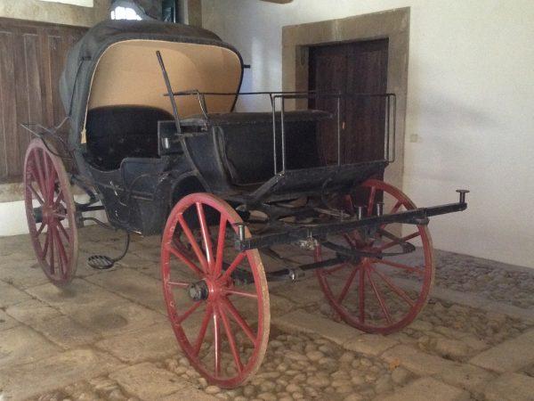 Viaja a Portugal, Casa Mateus Los carruajes discurrían por debajo del edificio principal