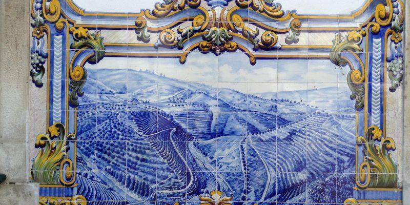 Viajar a Portugal Pinhao Estacion Tren Azulejos Vendimia 1