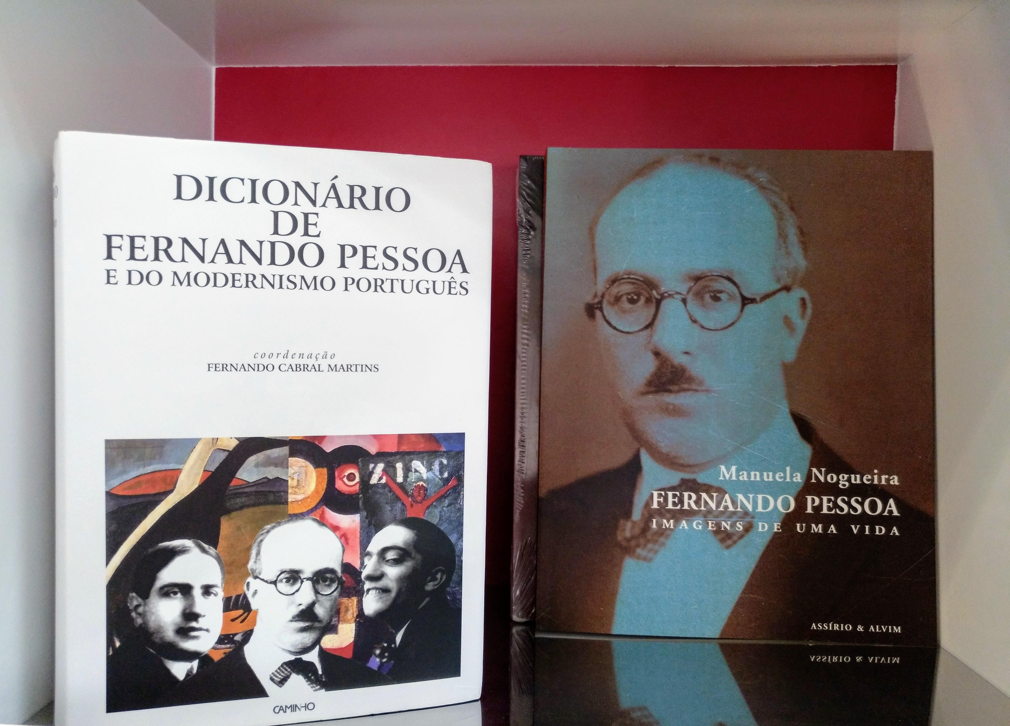 libros de fernando pessoa de la casa museo en campo de ourique_lisboa