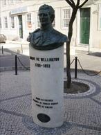 Lisboa Campo de Ourique Busto de Wellington Rua Saravia Carvalho