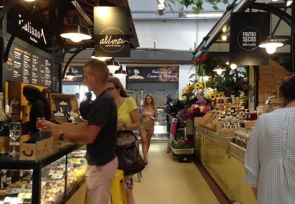 mercado foodie en campo de ourique