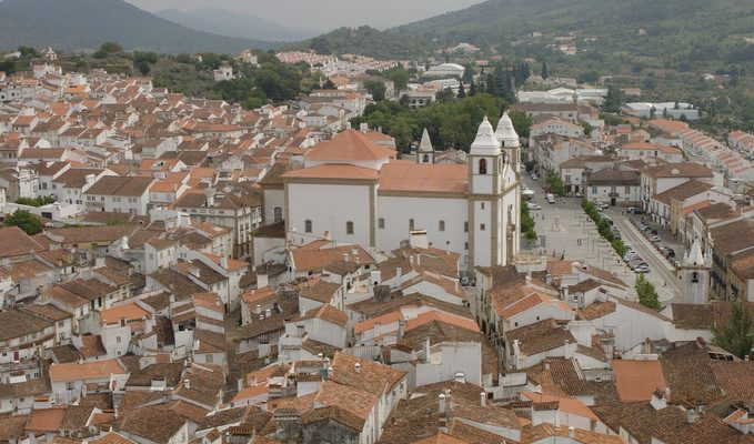 Vista panorámica de Castelo de Vide