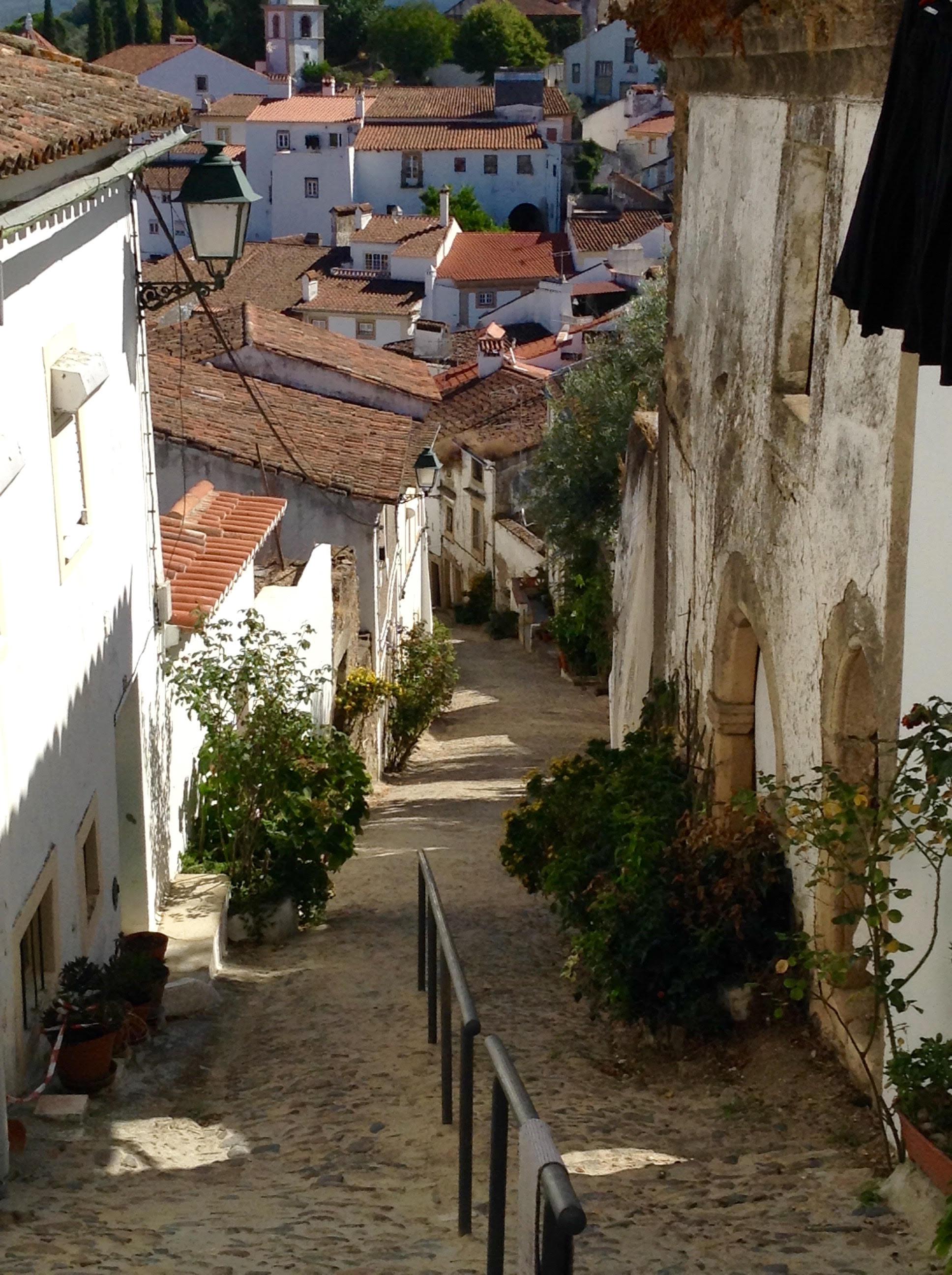 Por el barrio judio en Castelo de Vide