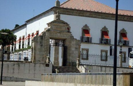 Fachada manuelina del Palacio Episcopal