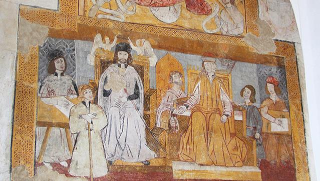 fresco mural