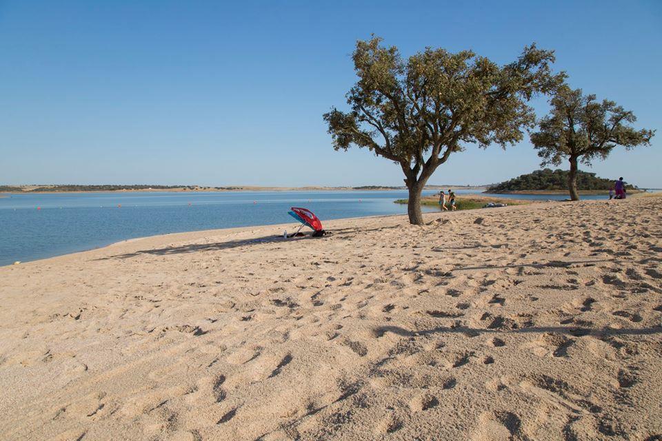 playa fluvial alqueva