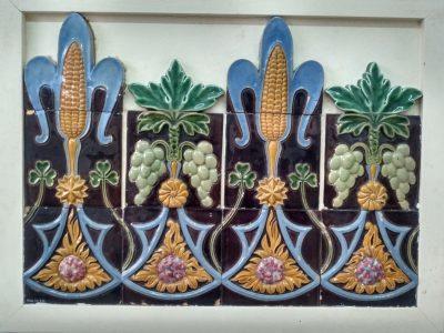 azulejos con maiz