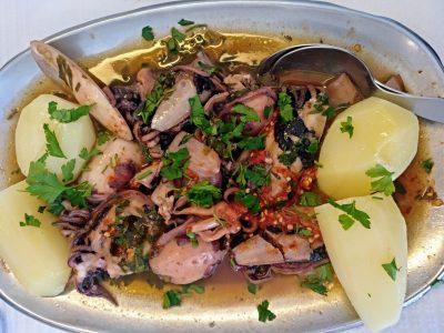 Deliciosos platos con estos Choquinhos a la Angolana con Piri Piri