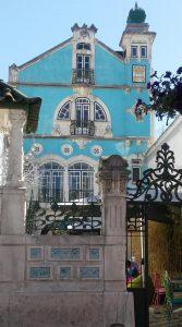 fachada del museo arte nova aveiro