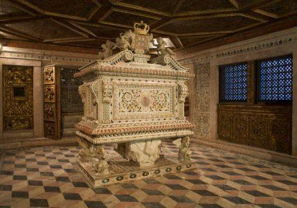 Túmulo de la Princesa Santa Juana