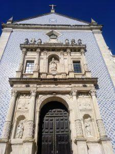 El rey Felipe II financió la construcción de esta iglesia, estando Portugal bajo el manto de España