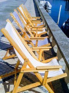 Ambiente agradable y distendido en el Canal de San Roque, con terrazas y restaurantes
