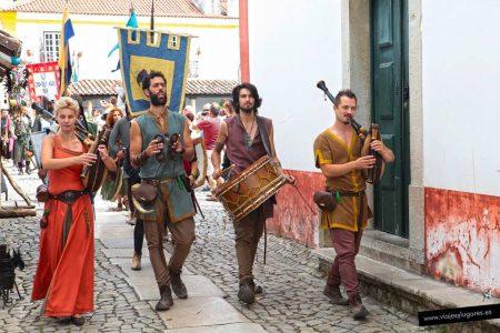 Óbidos se traslada a la Edad Media