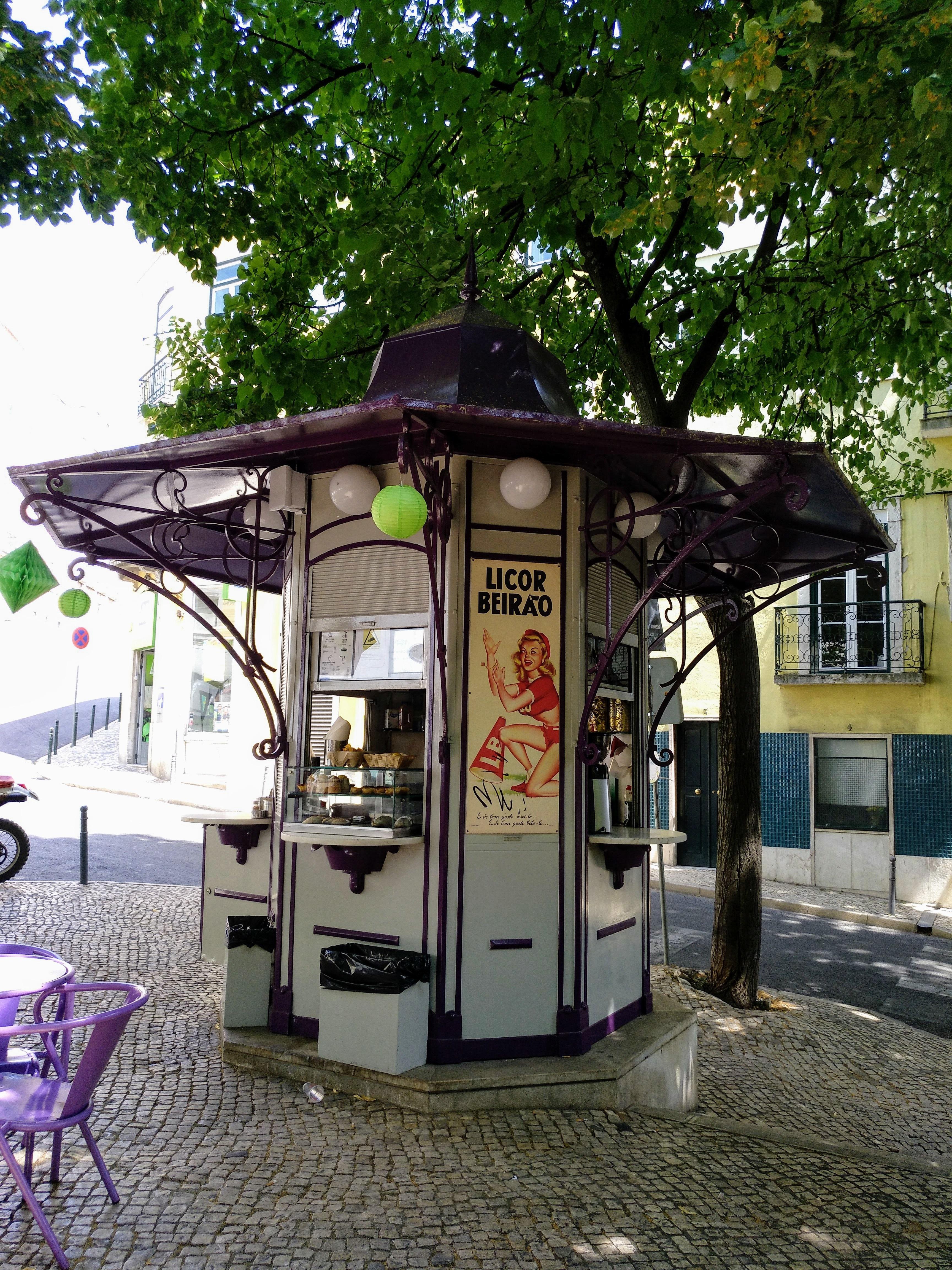 Kiosco Plaza Flores, Lisboa