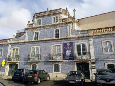 Fachada de la Quinta dos Azulejos, hoy Colegio Manuel Bernardes